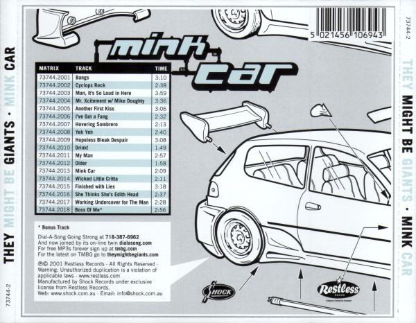 Mink Car Cover
