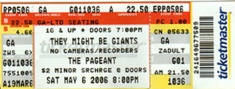 2006-05-06 Ticket Stub.jpg
