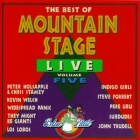 The Best Of Mountain Stage Live Volume Five live album cover