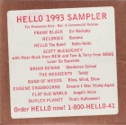 Hello 1993 Sampler hello recording cover