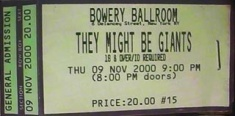 2000-11-09 Ticket Stub.jpg