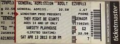 2013-04-13 Ticket Stub.jpg