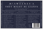 They Might Be Giants Vs. McSweeney's compilation cover