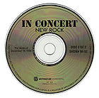 In Concert: New Rock (Acoustic Holiday Special) live album cover