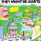 They Might Be Giants [ESD Pressing] (x2)