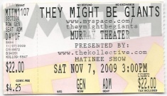 2009-11-07 Ticket Stub.jpg
