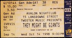 1998-10-14 Ticket Stub.jpg