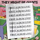 First Album Live live album cover