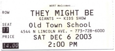 2003-12-06a Ticket Stub.jpg
