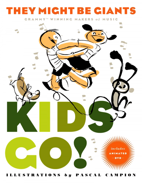 They Might Be Giants – Kids Go! Book Review and Giveaway