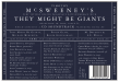 They Might Be Giants Vs. McSweeney's